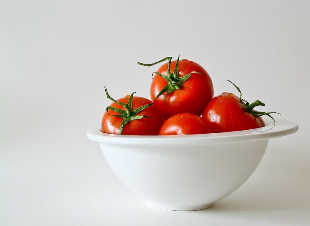 Tomatoes in Refrigerator