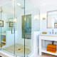 Tips for cleaning glass shower door