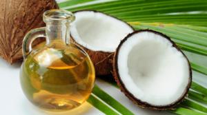 Coconut oil as furniture polish