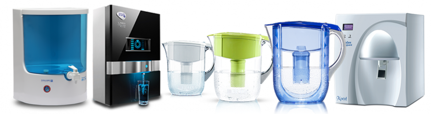 Different types of water purifier