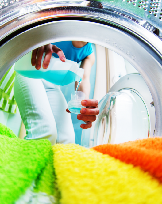 Detergent for front loading washing machine