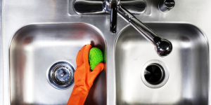 Stainless steel sink cleaning tips