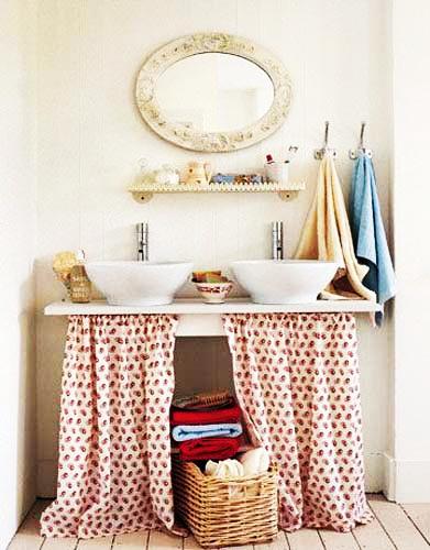 Bathroom Sink organisation and storage ideas