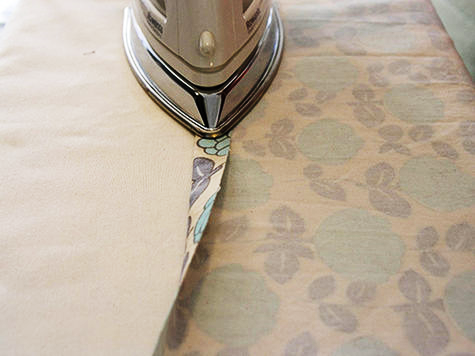 How to iron expensive curtain