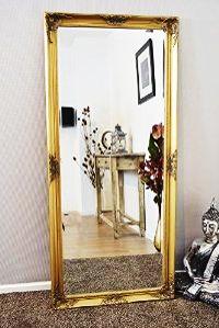 mirror decoration on wall