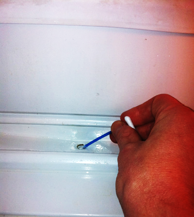 water leakage from refrigerator