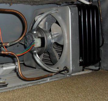 faulty fridge motor