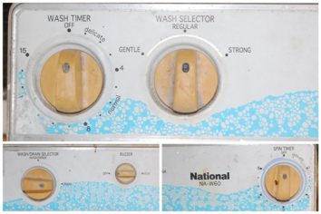 washing machine knobs