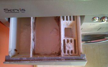washing maachine drawer