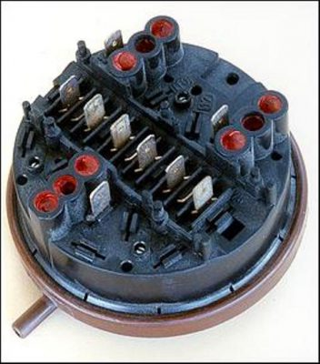 washing machine pressure switch problem