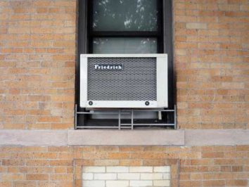 outer part of window ac