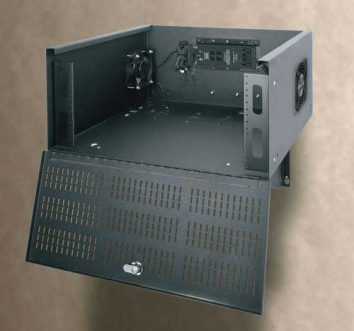 locker for dvr unit