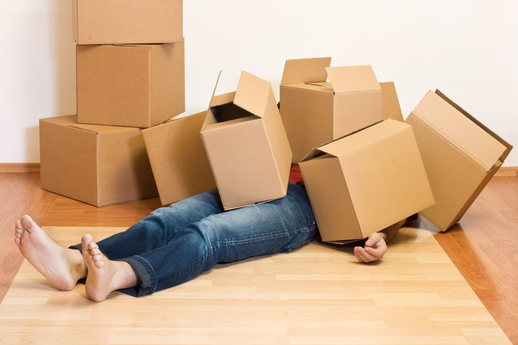 Hire Packers and Movers when moving from one place to another