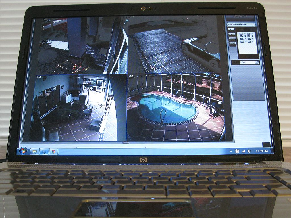 Get CCTVs installed in and around your house