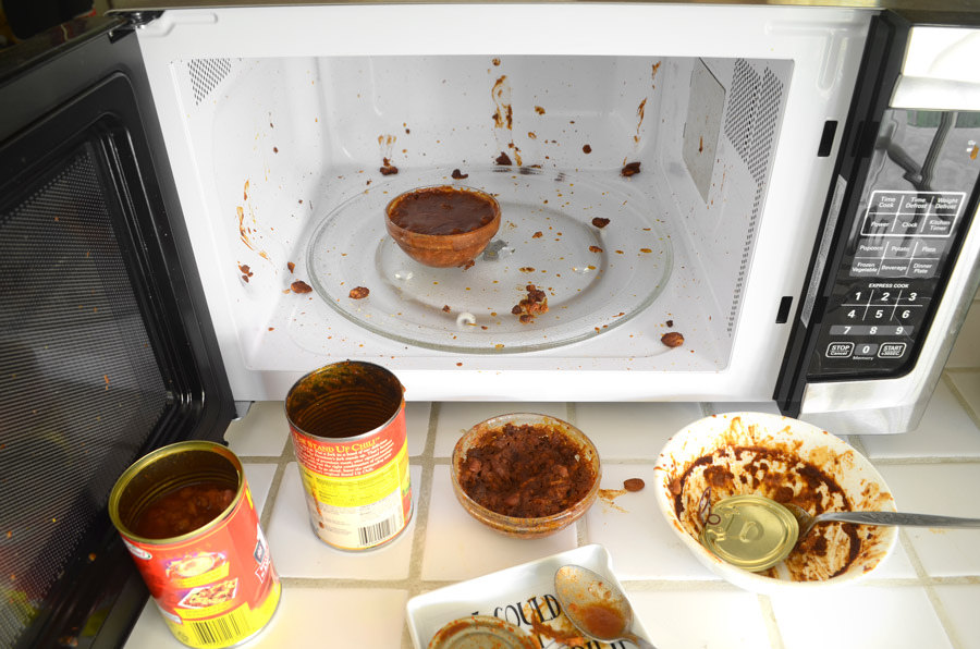 Cleaning microwave on regular basis is important