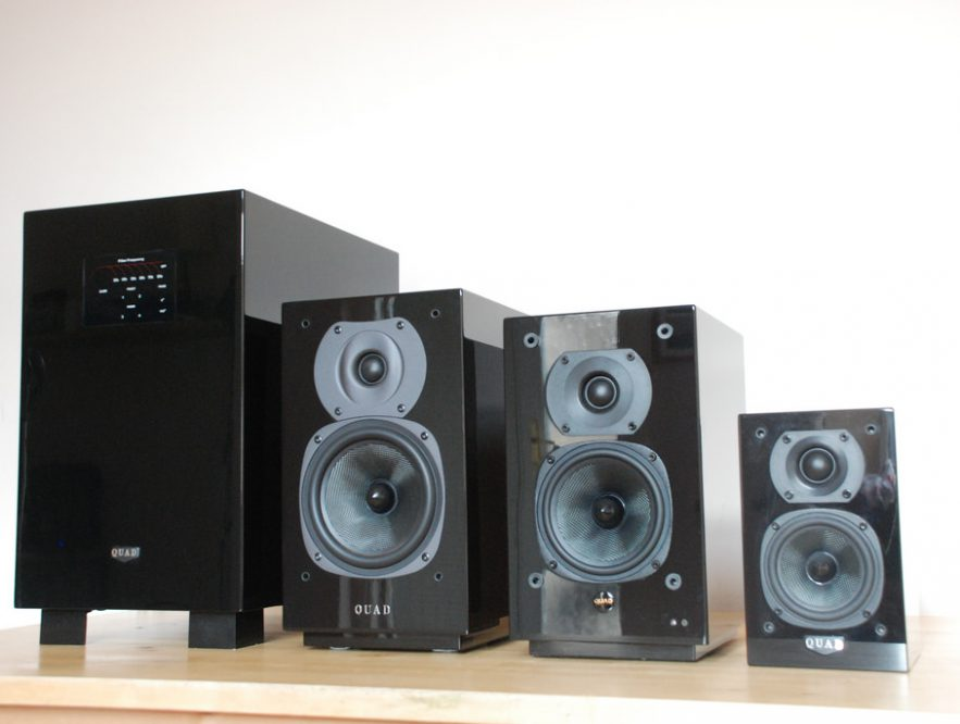 setting up home theatre system