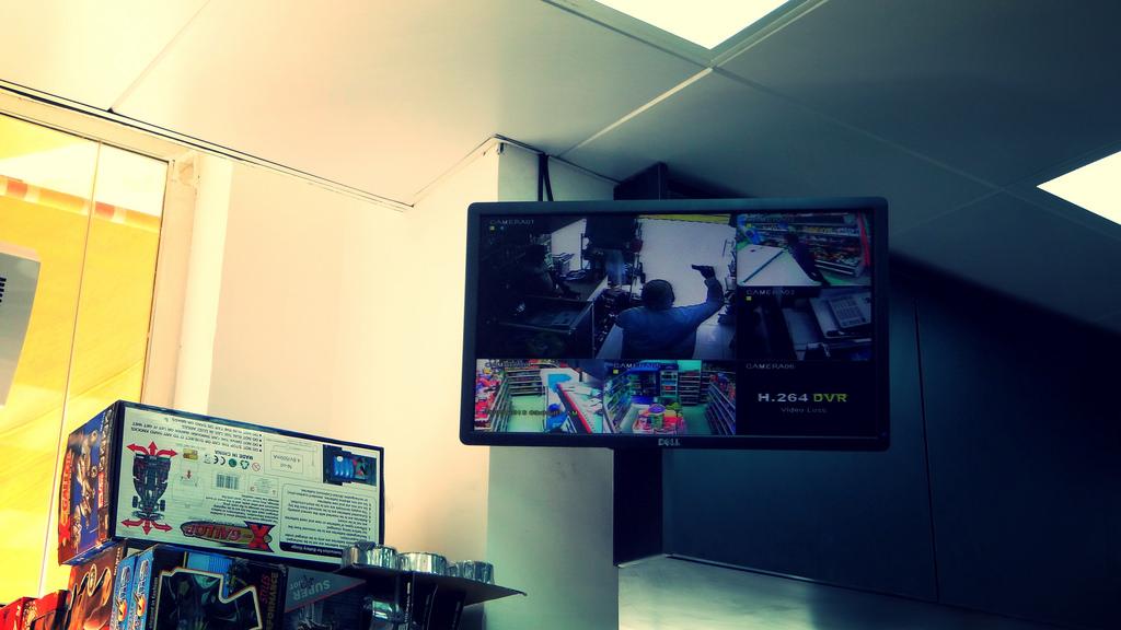 CCTV video recording