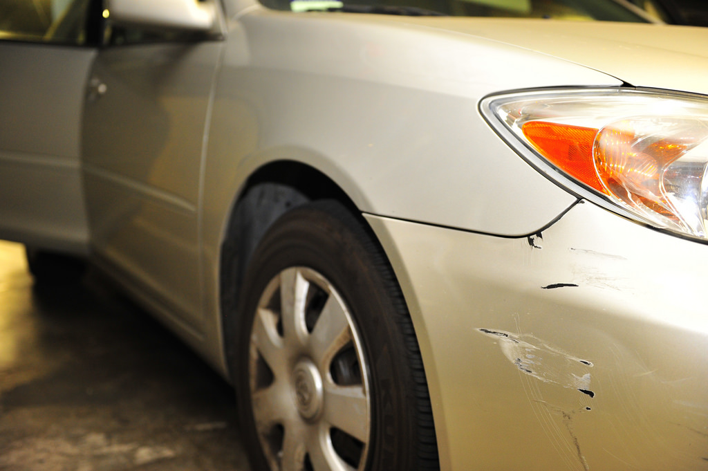 car scratch repair estimate