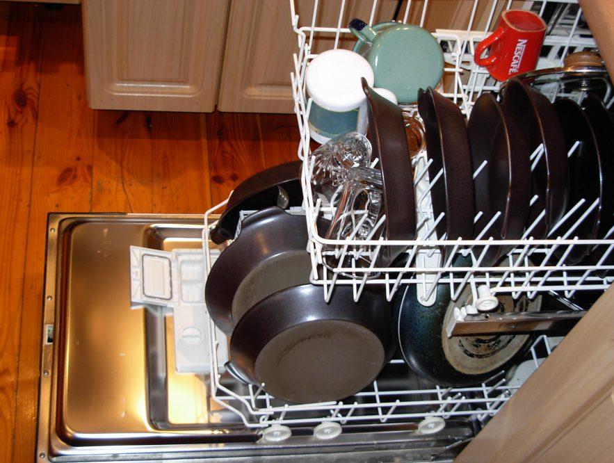 noisy dishwasher