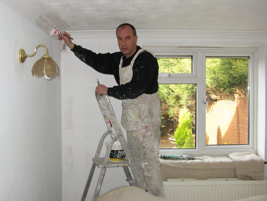 house painting fails