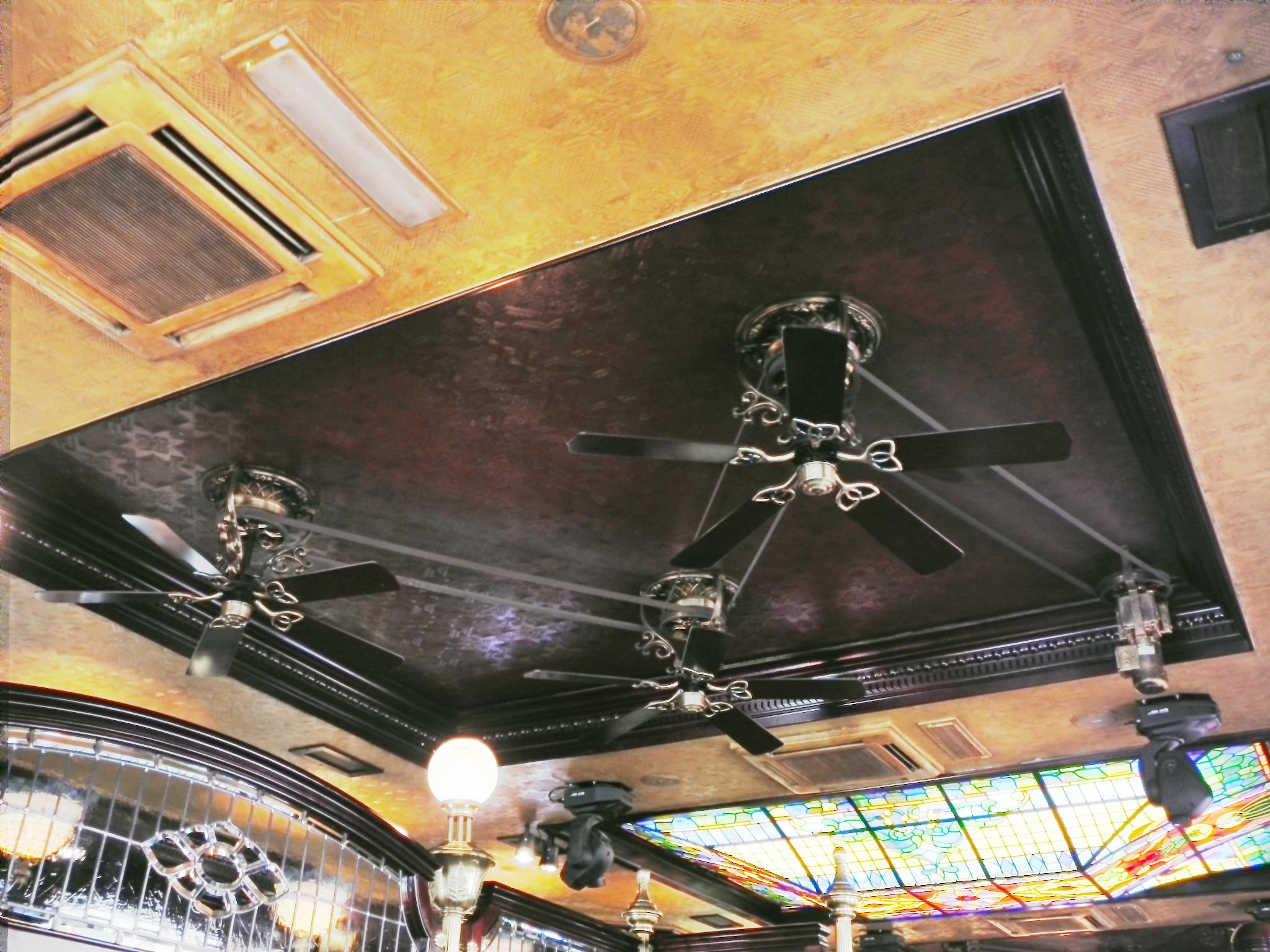 size of the ceiling fan