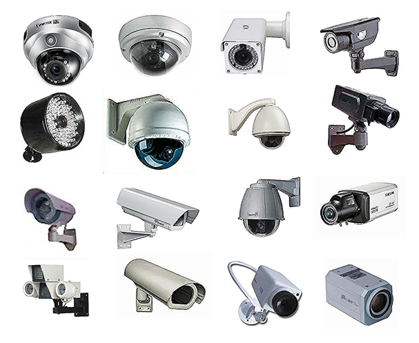 select the type of CCTV camera