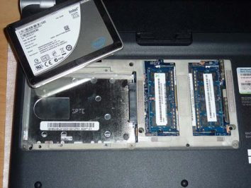 SSD drive to speed up laptop