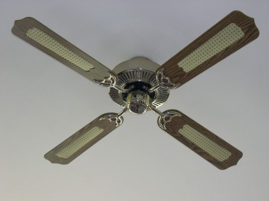 ceiling fan that wont spin