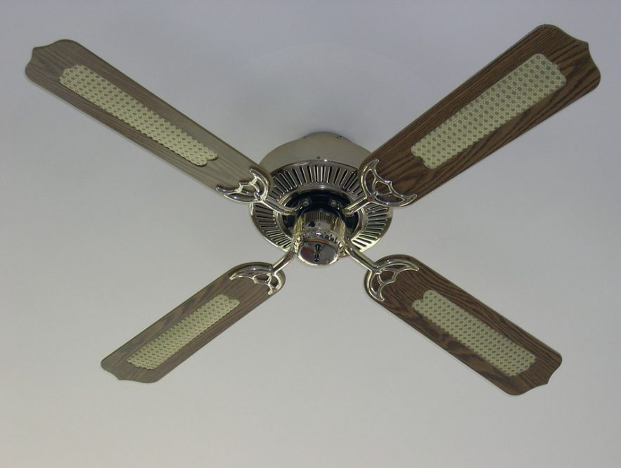 how to fix a ceiling fan that won't spin  ideasmr right
