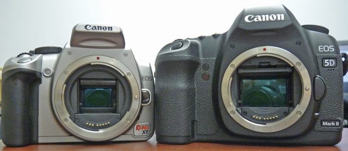 differences between SLRs and DSLRs
