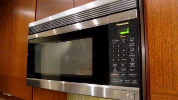 loud or noisy microwave