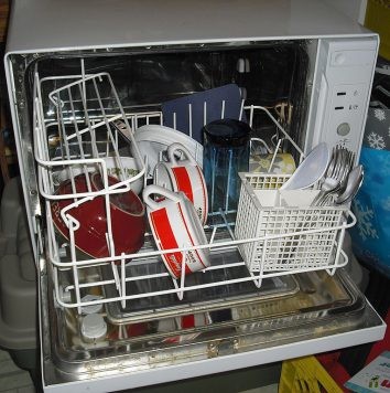 dishwasher not draining