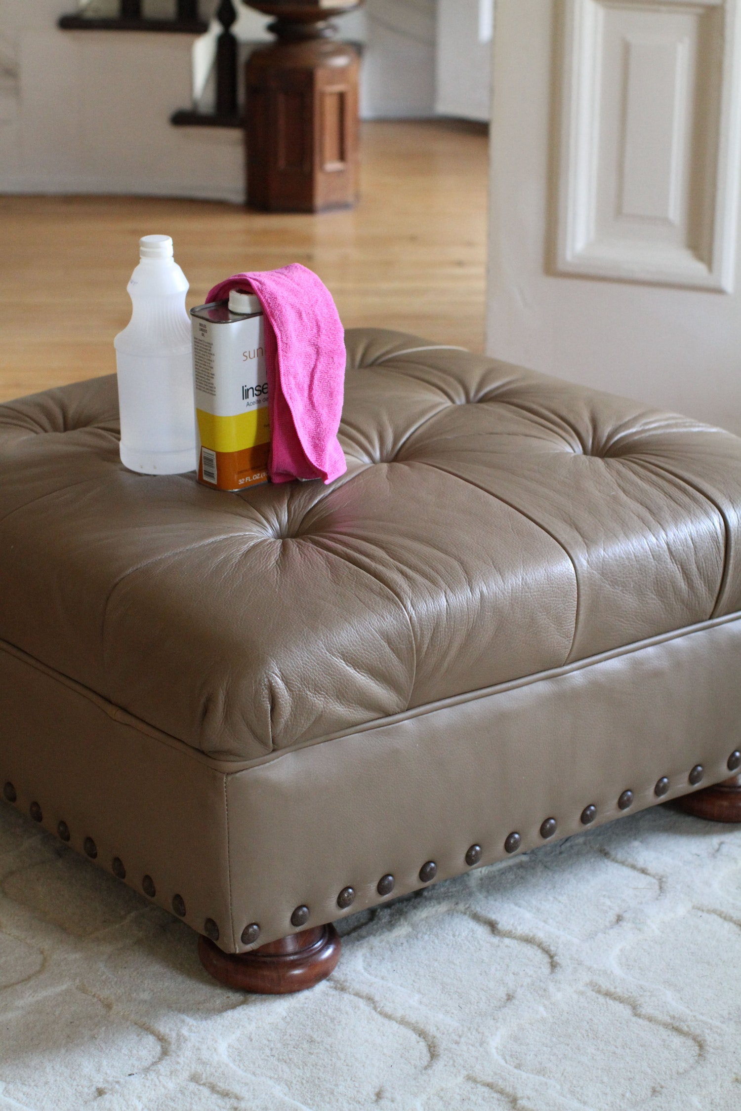 conditioning a sofa