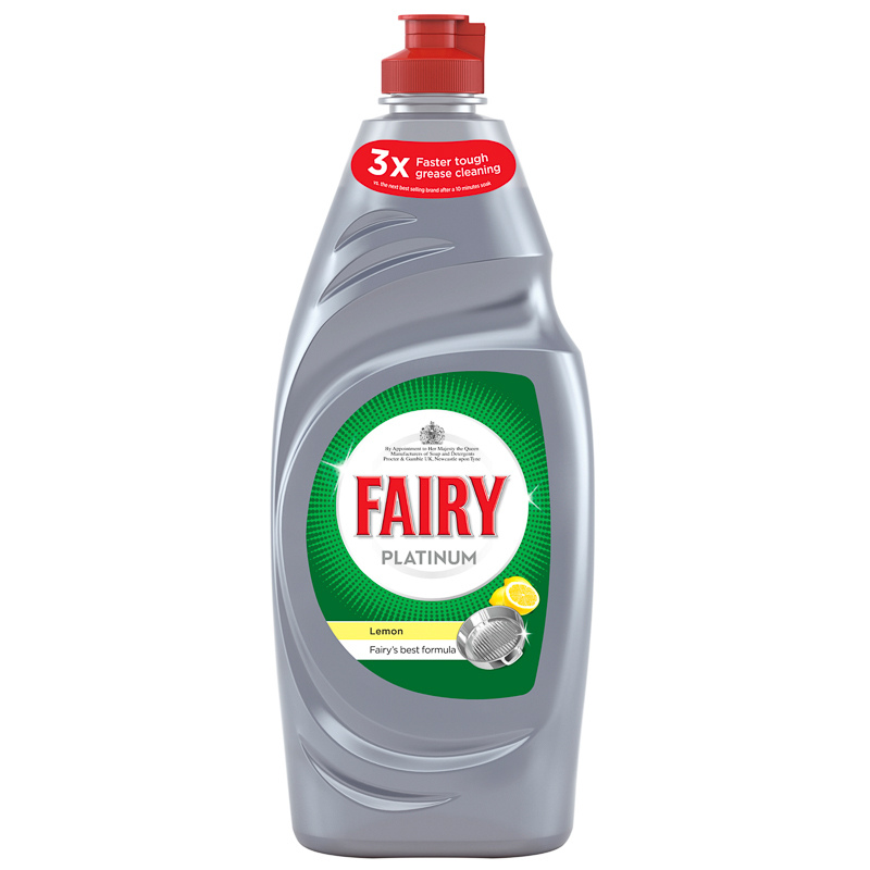 fairy dishwasher detergent