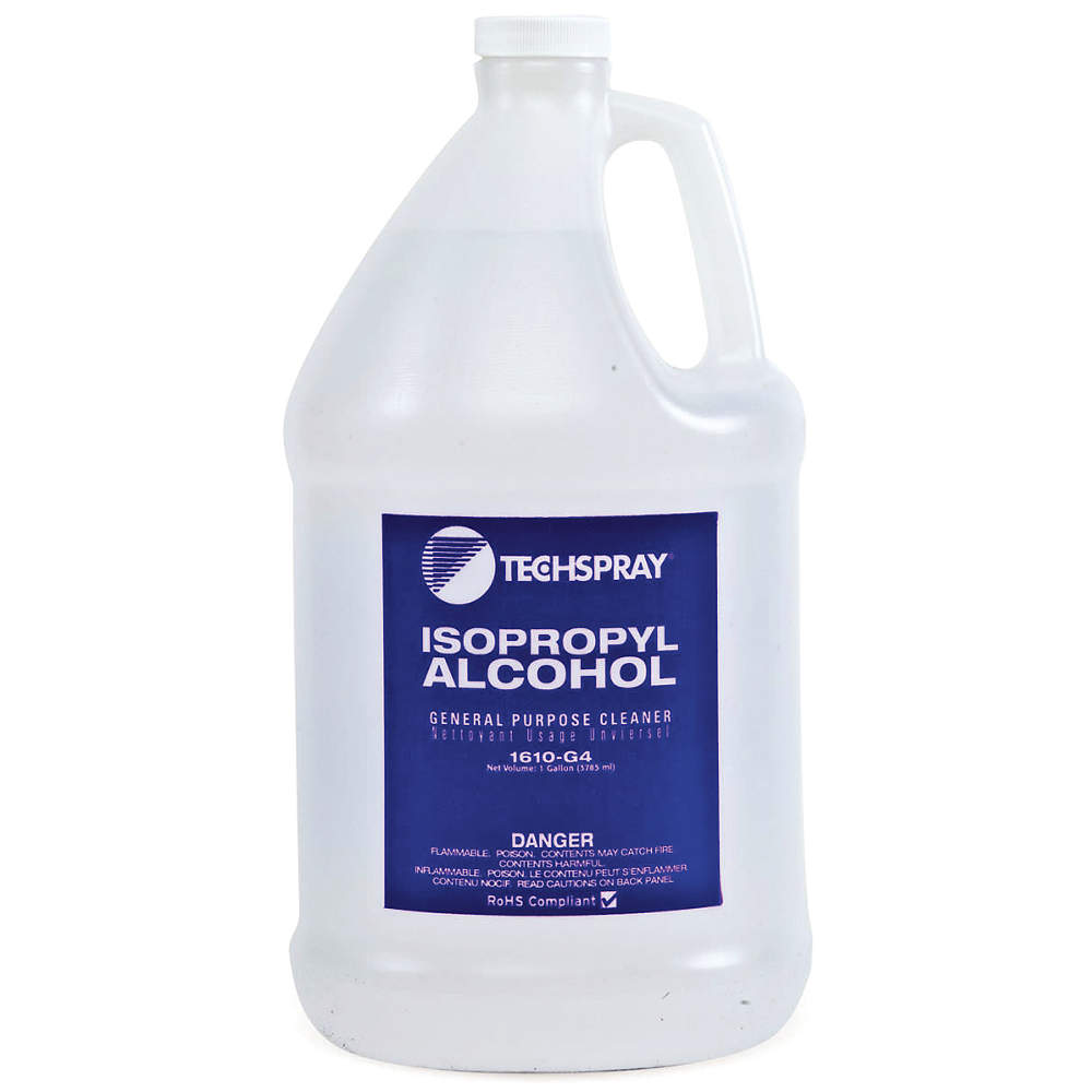 isopropyl alcohol for removing oil stains