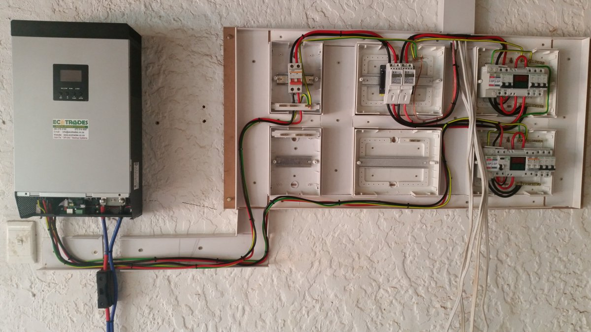 Diy Guide For Inverter Installation At Home Ideas By Mr Right Wiring A Consumer Unit And Distribution Board