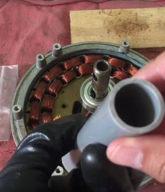 frozen bearings