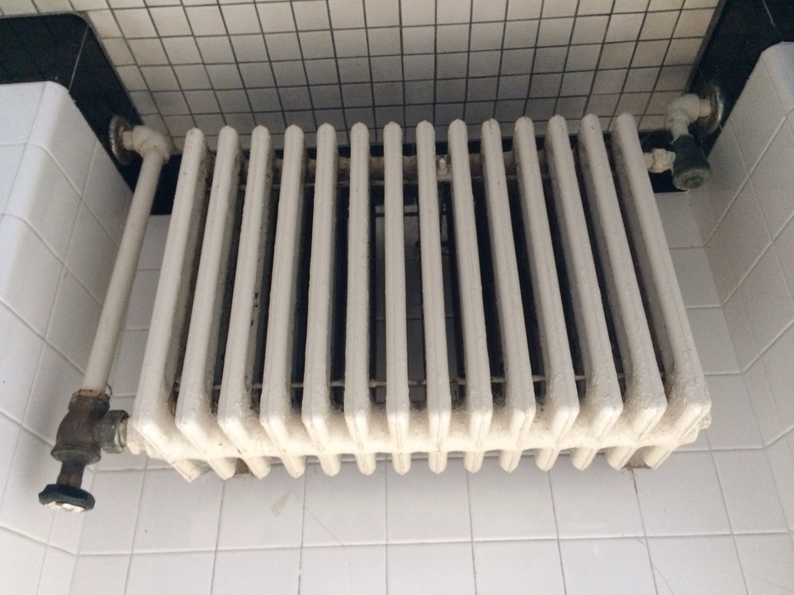 radiator in parallel