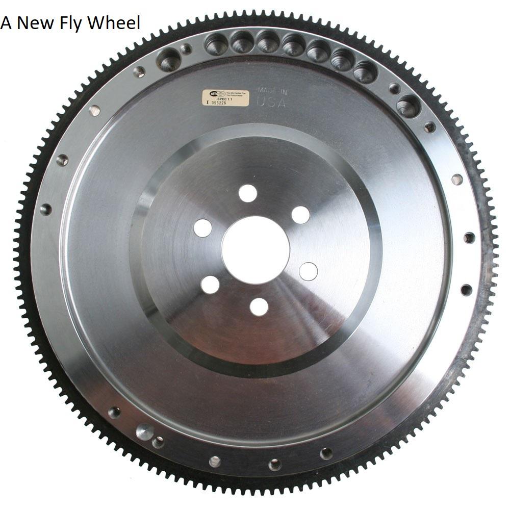 a new flywheel