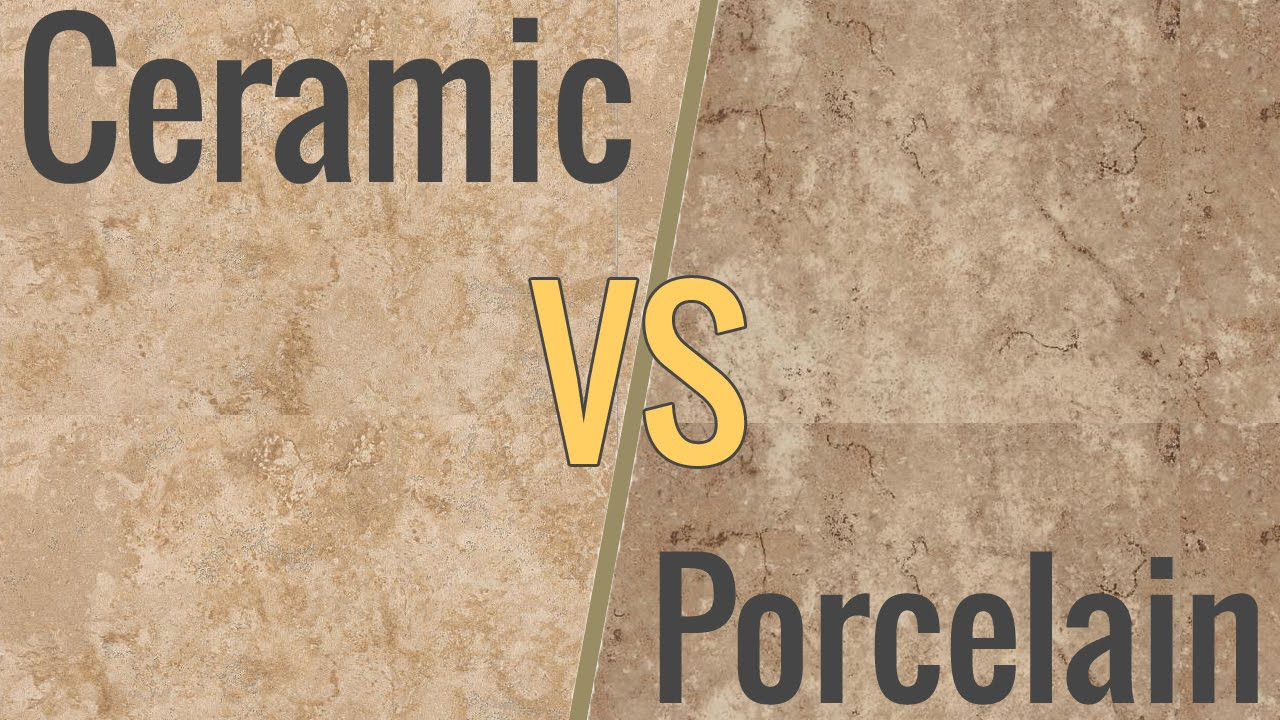Which is better: ceramic tiles and porcelain tiles 6