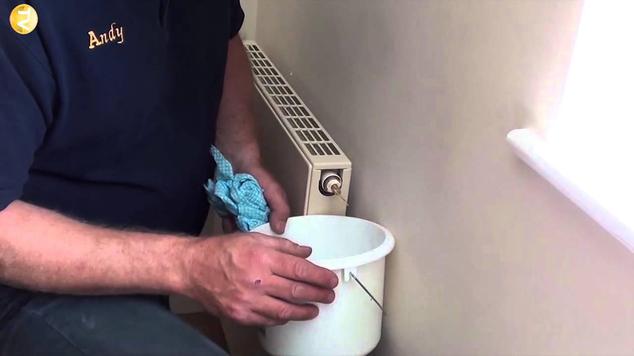 bleeding steam out of radiator