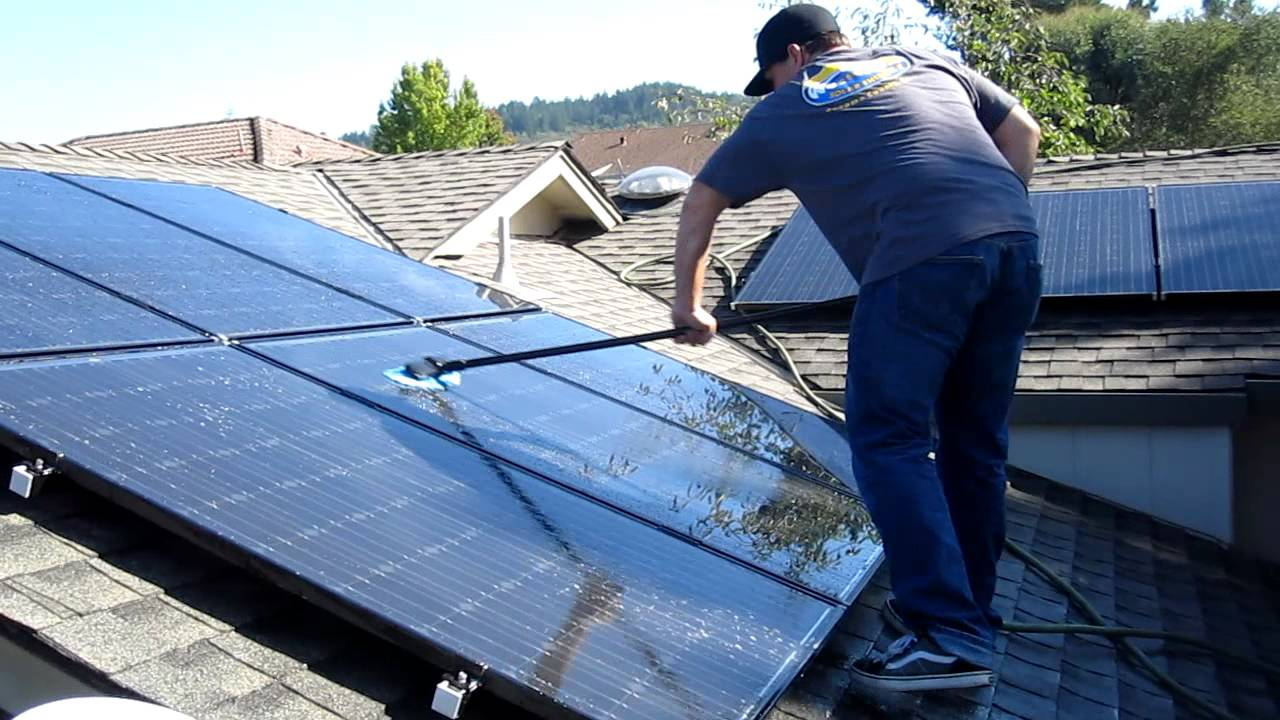 How To Clean Solar Panels Tips And Suggestions Ideas By Mr Right When Adding Circuit Breaker For Diy Your Home