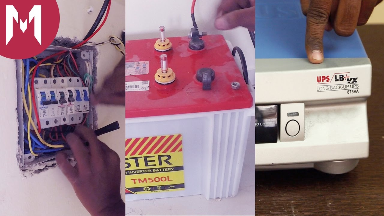 Diy Guide For Inverter Installation At Home Ideas By Mr Right Wiring