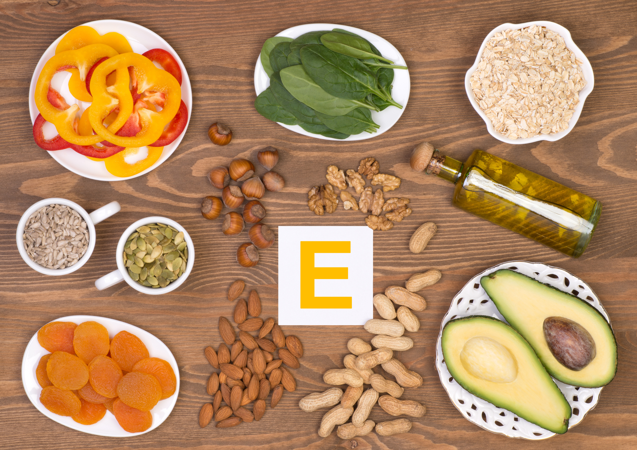 foods rich in vitamin A and E to treat Chikungunya