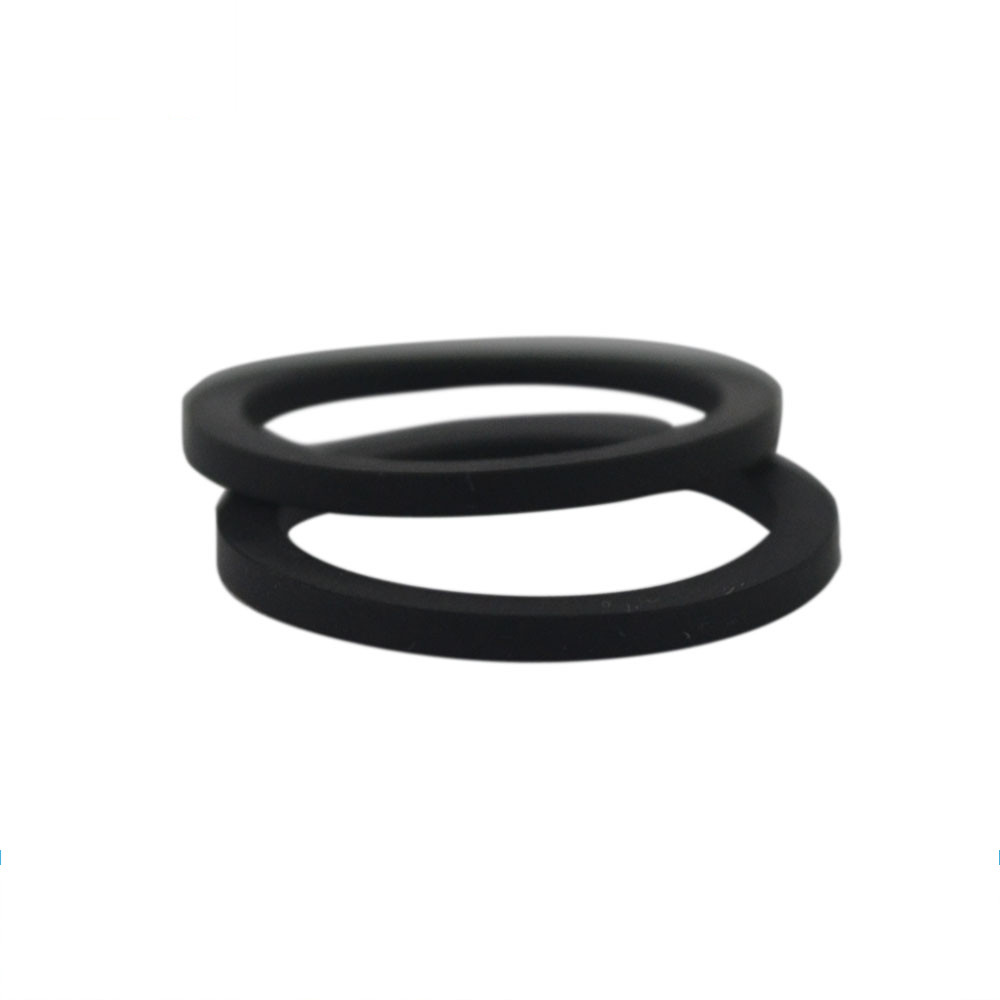 foam gasket ring proper placement to avoid white spots in CCTV footage