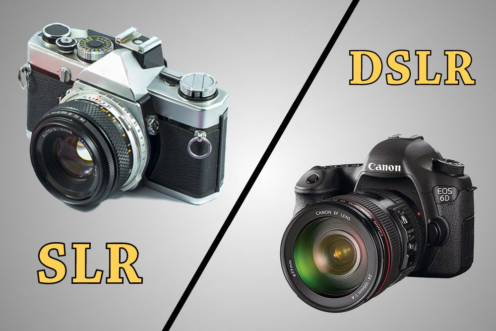 differences between SLR and DSLR