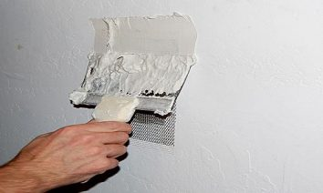 How to apply putty
