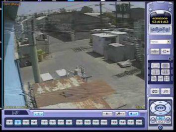 horizontal lines in cctv video
