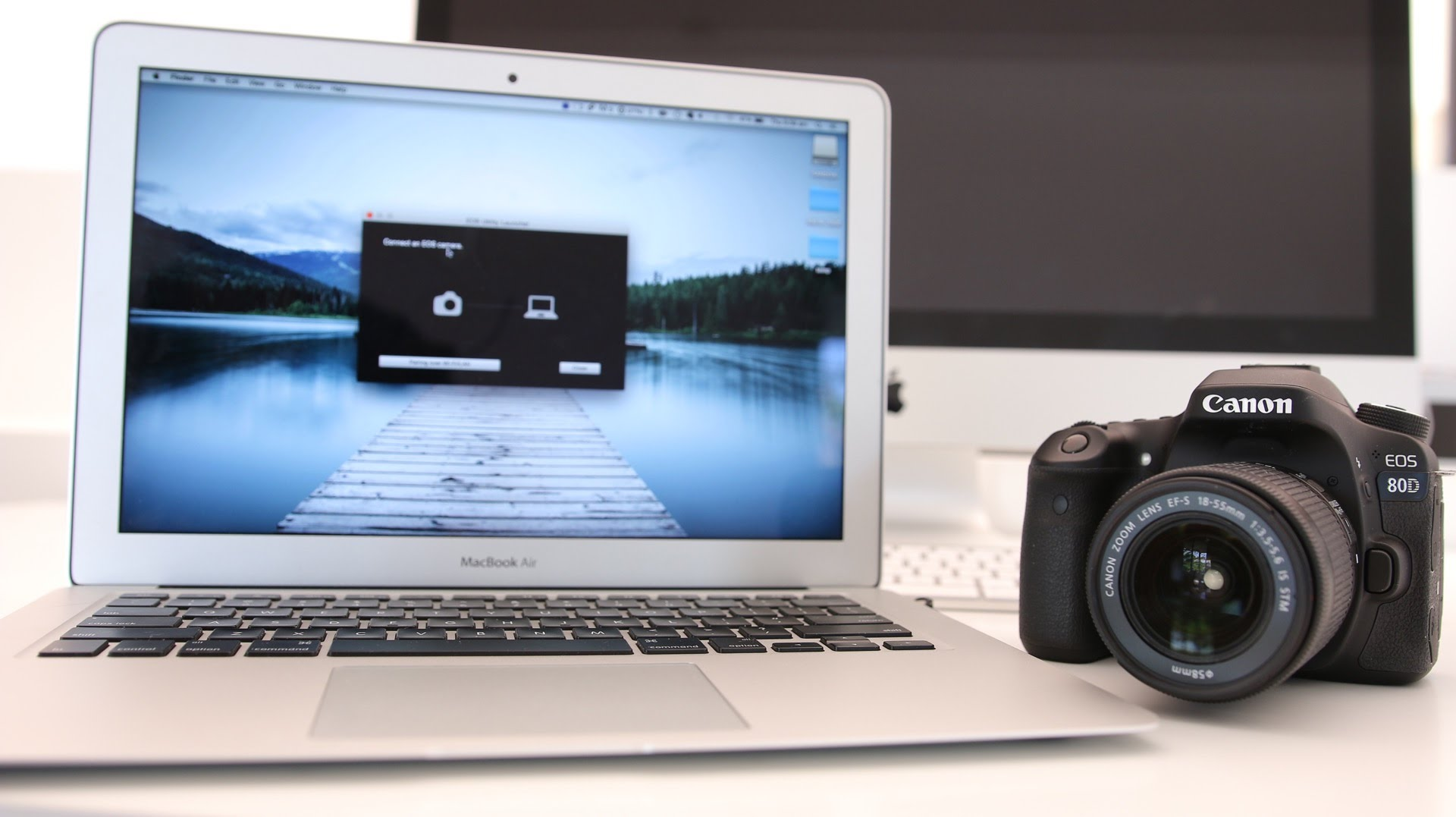 connect DSLR and laptop