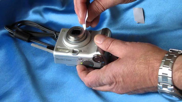 stuck lens